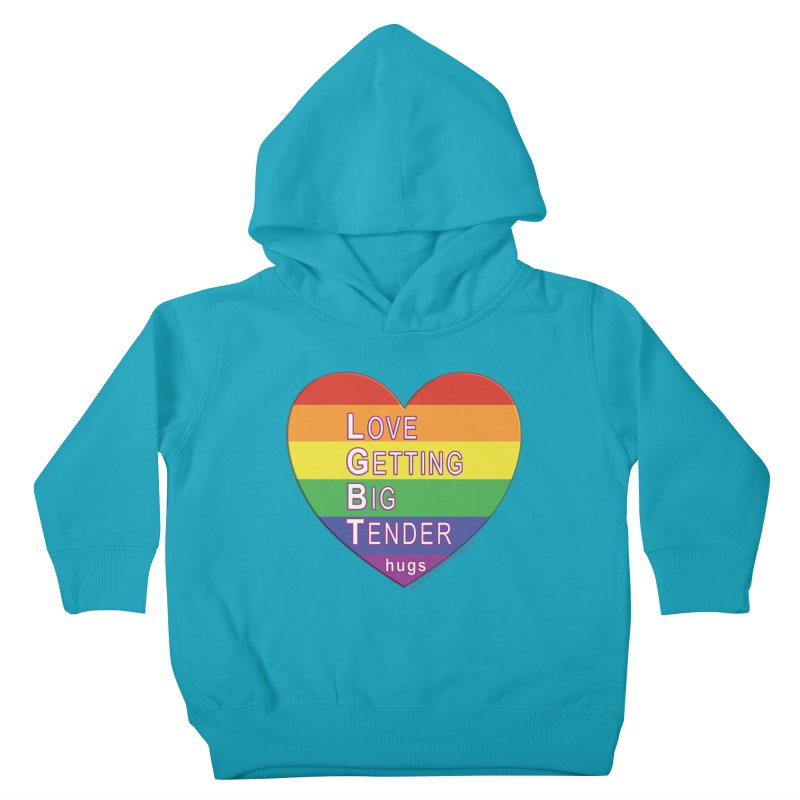 LGBT Shirts n More Kids Toddler Pullover Hoody by Leading Artist Shop