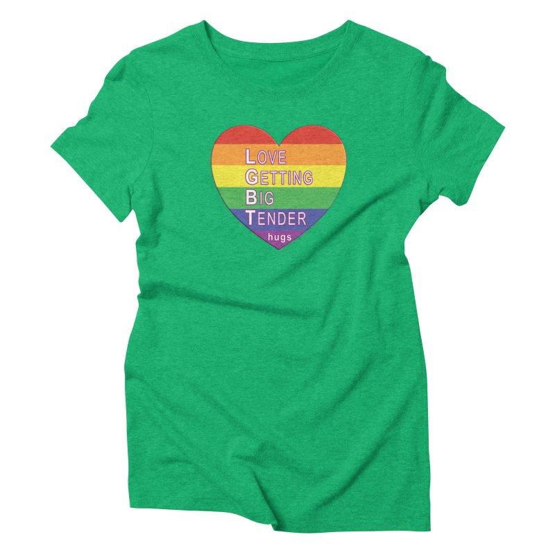 LGBT Shirts n More Women's Triblend T-Shirt by Leading Artist Shop