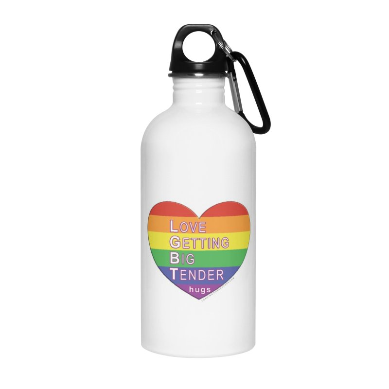 LGBT Shirts n More Accessories Water Bottle by Leading Artist Shop