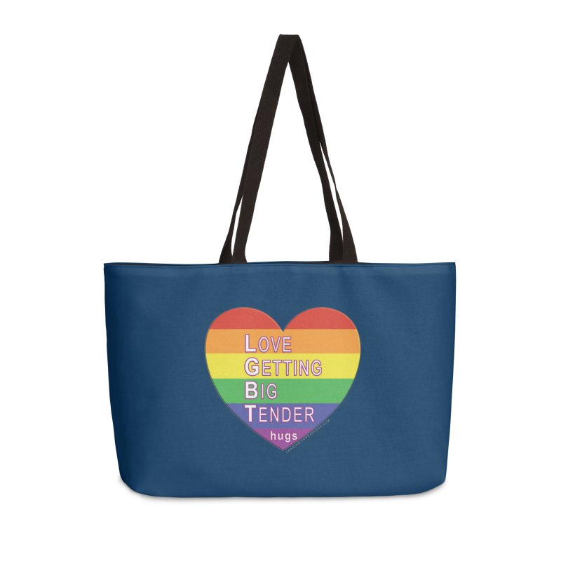 LGBT Shirts n More Accessories Weekender Bag Bag by Leading Artist Shop
