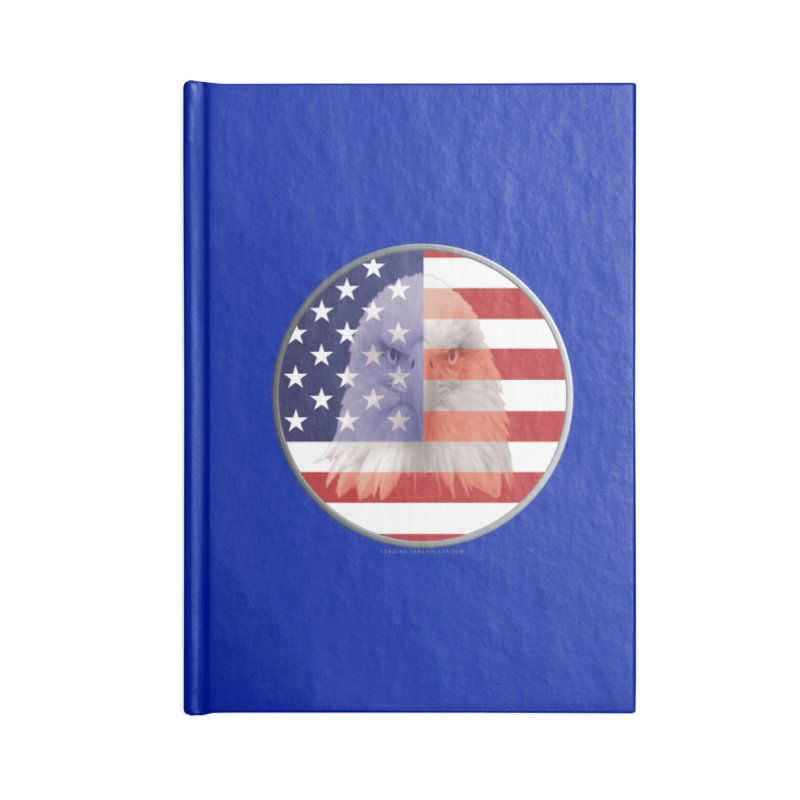 Patriotic Shirts n More | 4th of July Accessories Blank Journal Notebook by Leading Artist Shop