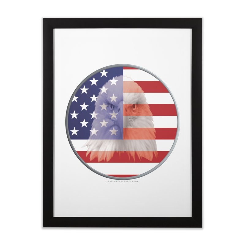 Patriotic Shirts n More | 4th of July Home Framed Fine Art Print by Leading Artist Shop
