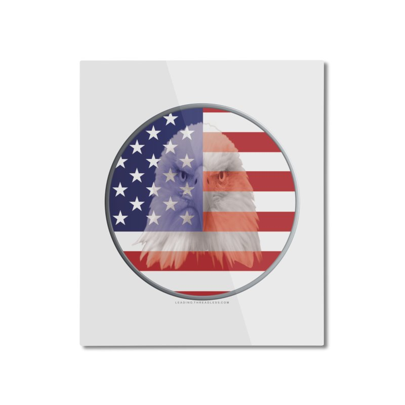 Patriotic Shirts n More | 4th of July Home Mounted Aluminum Print by Leading Artist Shop