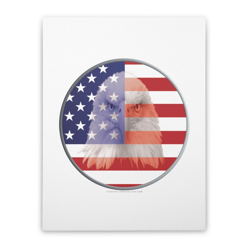 Patriotic Shirts n More | 4th of July Home Stretched Canvas by Leading Artist Shop