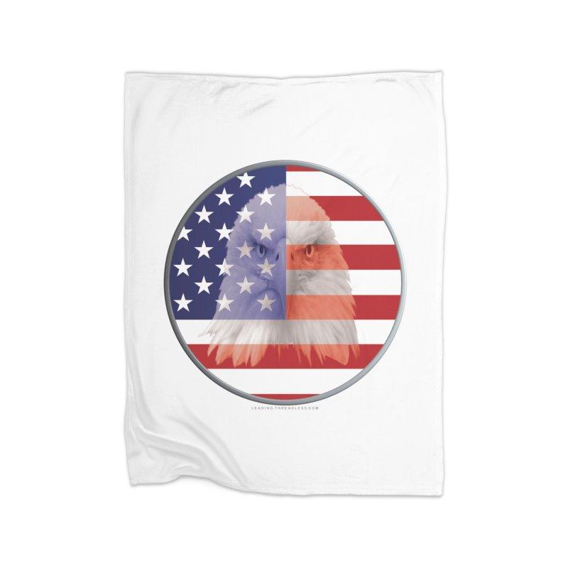 Patriotic Shirts n More   4th of July Home Fleece Blanket Blanket by Leading Artist Shop