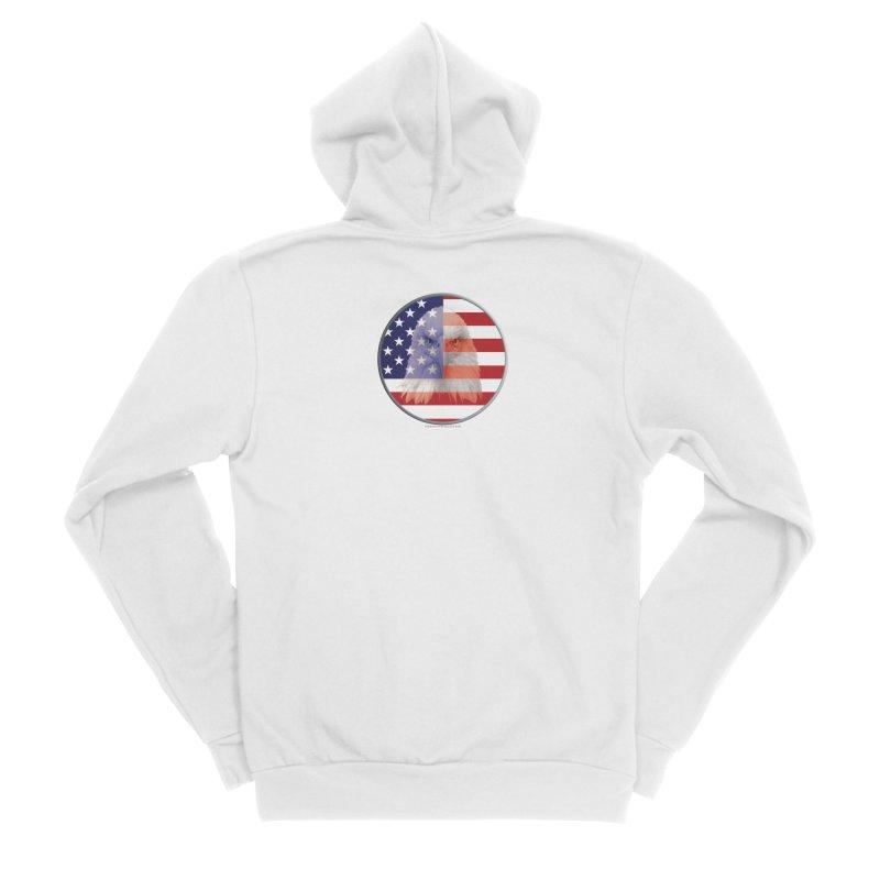 Patriotic Shirts n More | 4th of July Men's Sponge Fleece Zip-Up Hoody by Leading Artist Shop