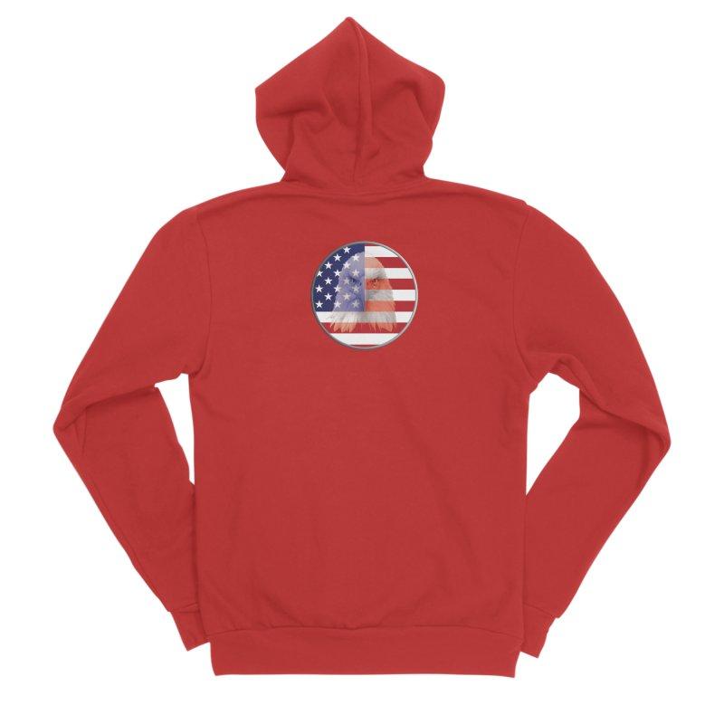 Patriotic Shirts n More | 4th of July Women's Sponge Fleece Zip-Up Hoody by Leading Artist Shop