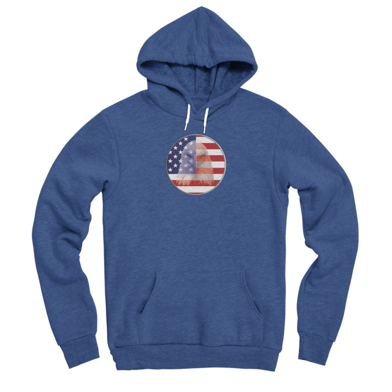 Patriotic Shirts n More | 4th of July Men's Sponge Fleece Pullover Hoody by Leading Artist Shop