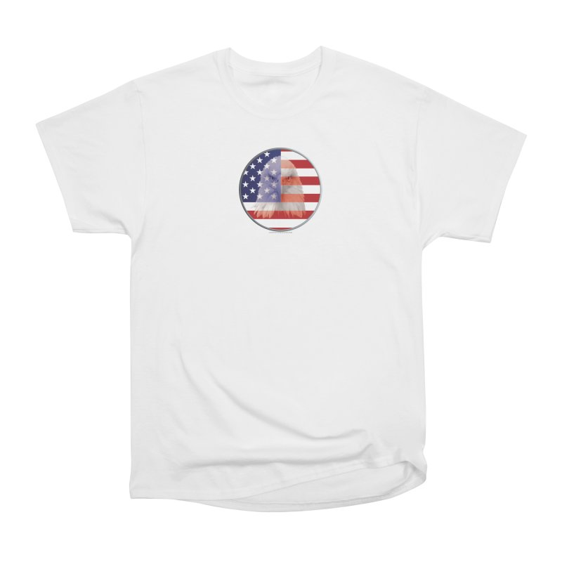 Patriotic Shirts n More | 4th of July Women's Heavyweight Unisex T-Shirt by Leading Artist Shop