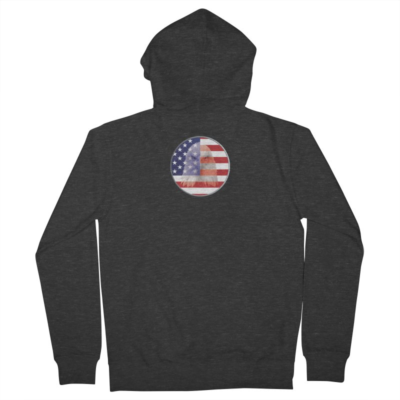 Patriotic Shirts n More | 4th of July Women's French Terry Zip-Up Hoody by Leading Artist Shop