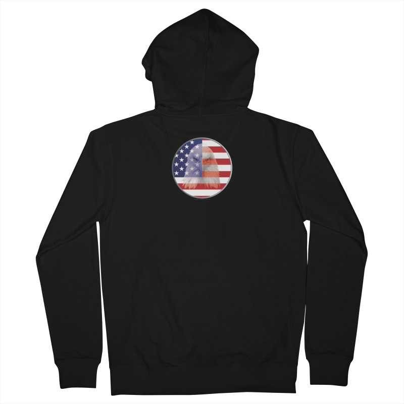 Patriotic Shirts n More | 4th of July Men's French Terry Zip-Up Hoody by Leading Artist Shop