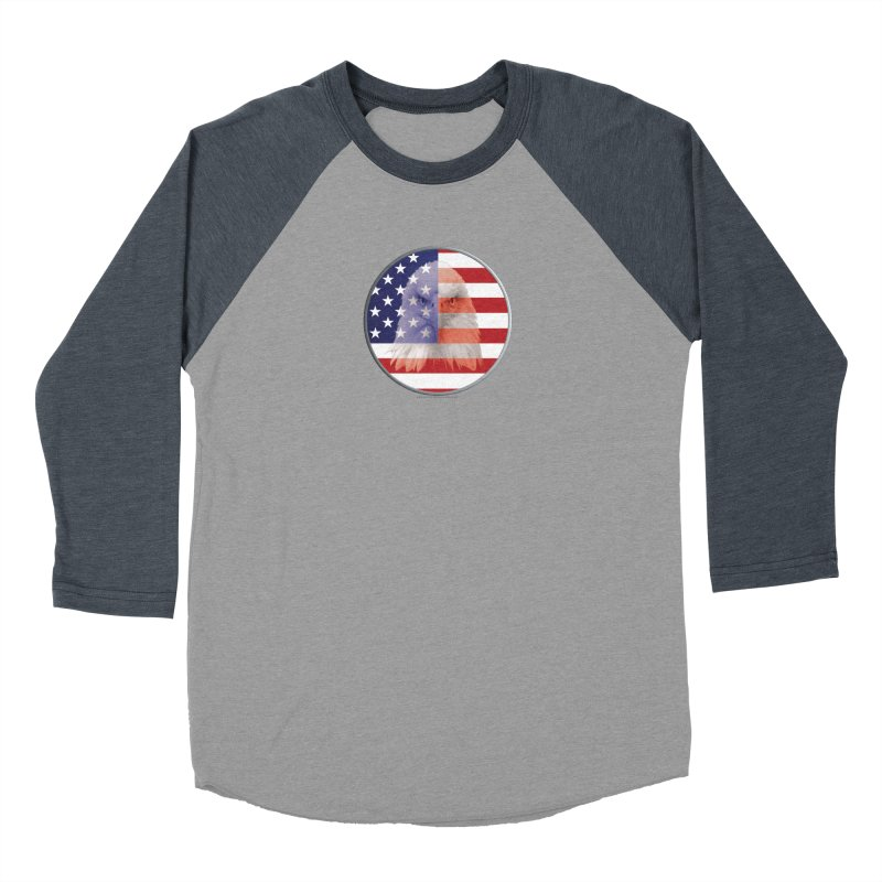 Patriotic Shirts n More   4th of July Women's Baseball Triblend Longsleeve T-Shirt by Leading Artist Shop