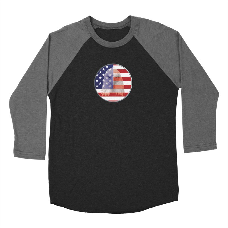 Patriotic Shirts n More | 4th of July Men's Baseball Triblend Longsleeve T-Shirt by Leading Artist Shop
