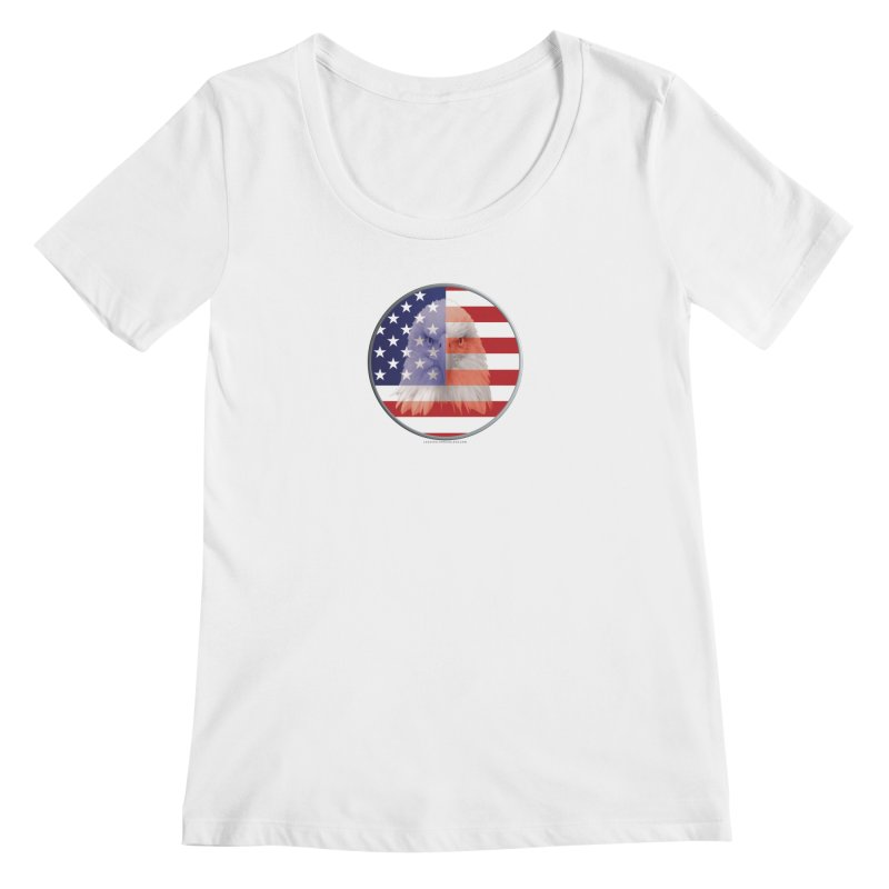 Patriotic Shirts n More | 4th of July Women's Regular Scoop Neck by Leading Artist Shop