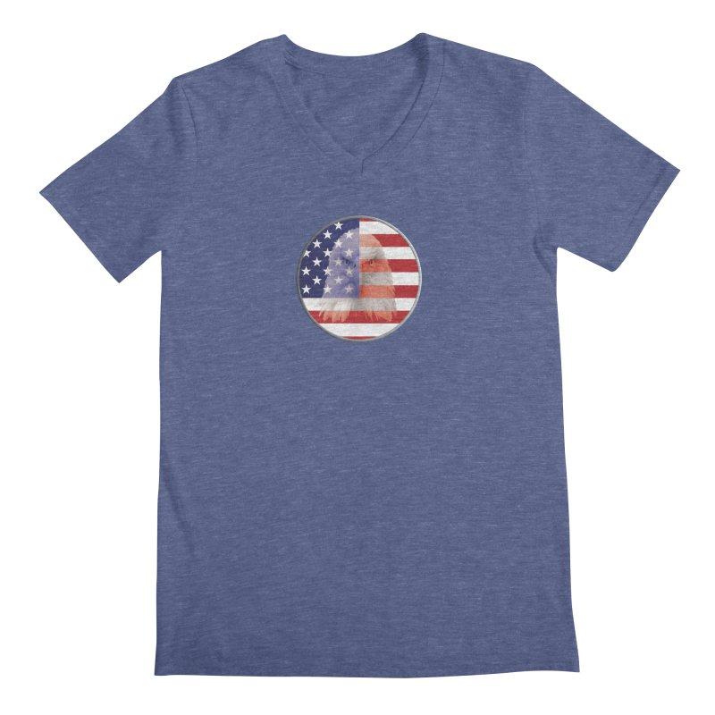Patriotic Shirts n More | 4th of July Men's Regular V-Neck by Leading Artist Shop