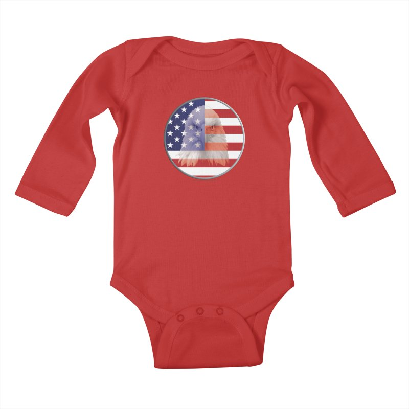 Patriotic Shirts n More | 4th of July Kids Baby Longsleeve Bodysuit by Leading Artist Shop