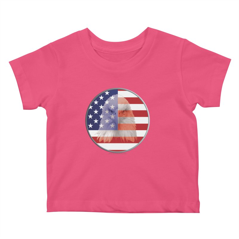 Patriotic Shirts n More | 4th of July Kids Baby T-Shirt by Leading Artist Shop