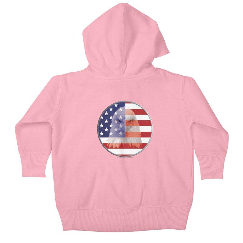 Patriotic Shirts n More | 4th of July Kids Baby Zip-Up Hoody by Leading Artist Shop