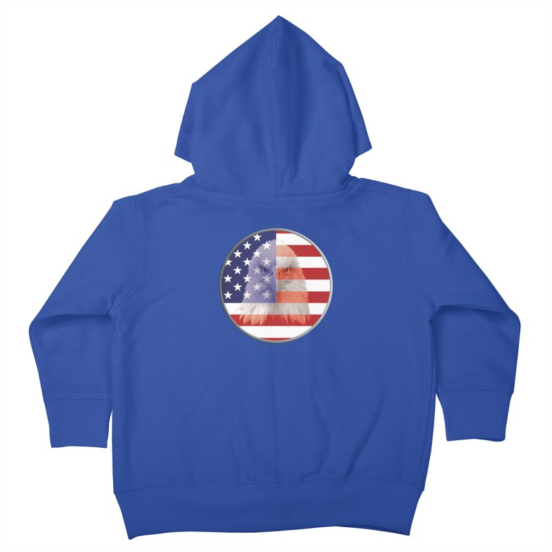 Patriotic Shirts n More | 4th of July Kids Toddler Zip-Up Hoody by Leading Artist Shop