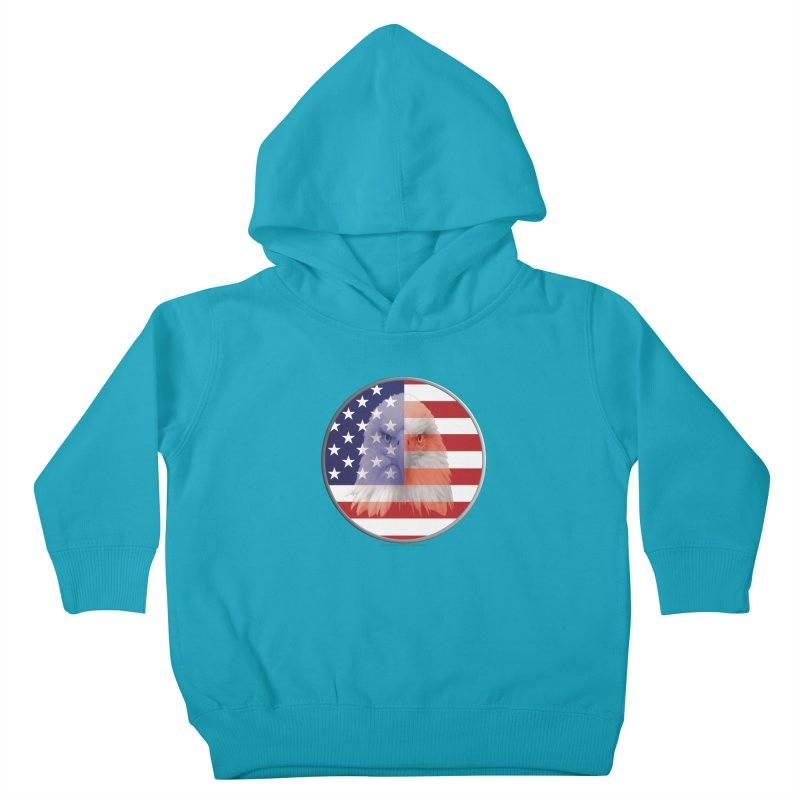 Patriotic Shirts n More   4th of July Kids Toddler Pullover Hoody by Leading Artist Shop
