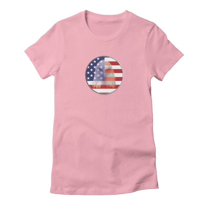 Patriotic Shirts n More | 4th of July Women's Fitted T-Shirt by Leading Artist Shop