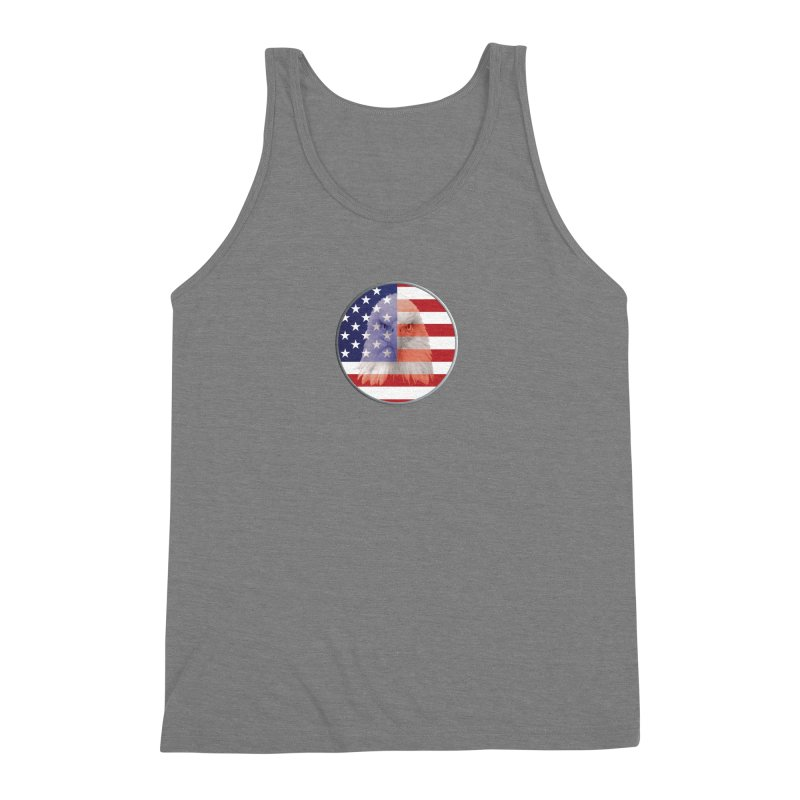 Patriotic Shirts n More | 4th of July Men's Triblend Tank by Leading Artist Shop