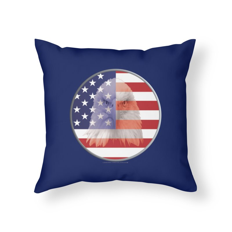 Patriotic Shirts n More | 4th of July Home Throw Pillow by Leading Artist Shop