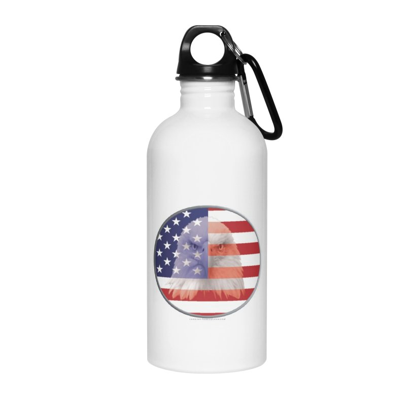 Patriotic Shirts n More | 4th of July Accessories Water Bottle by Leading Artist Shop