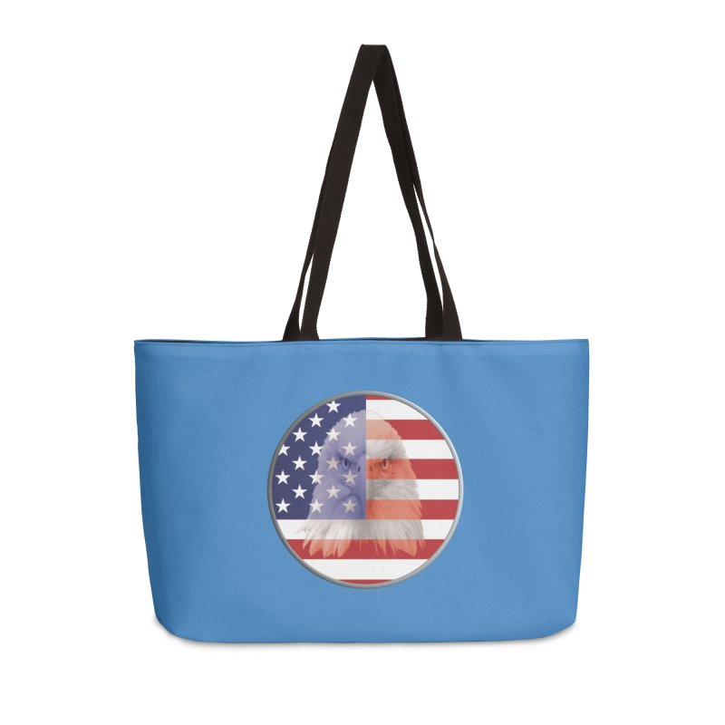 Patriotic Shirts n More | 4th of July Accessories Weekender Bag Bag by Leading Artist Shop