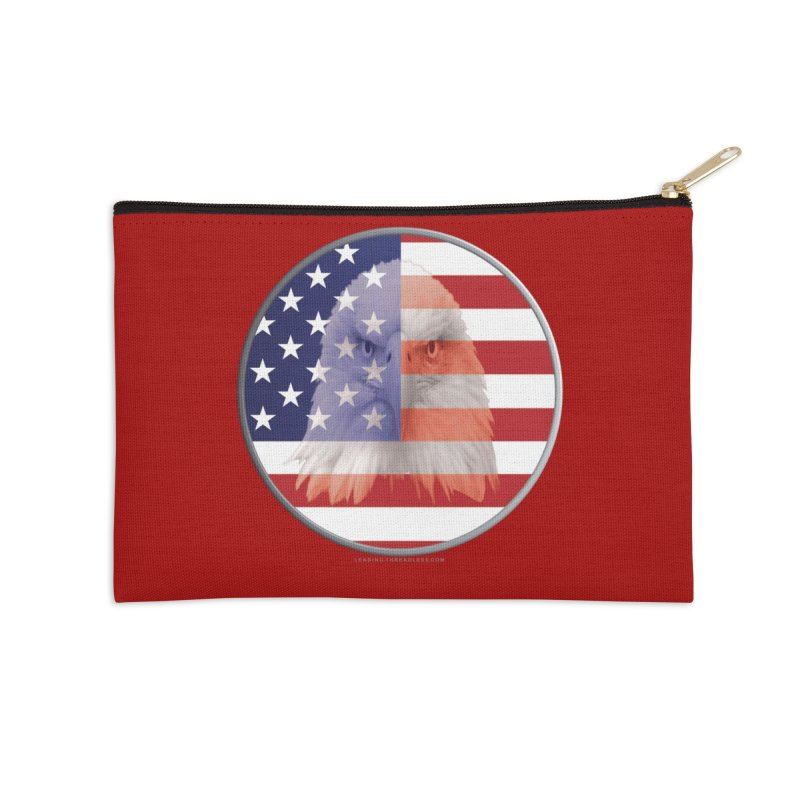 Patriotic Shirts n More | 4th of July Accessories Zip Pouch by Leading Artist Shop