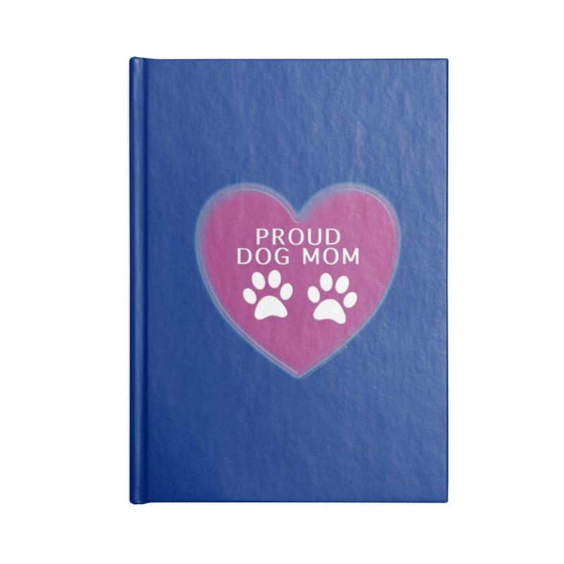 Dog Mama Shirts Accessories Lined Journal Notebook by Leading Artist Shop