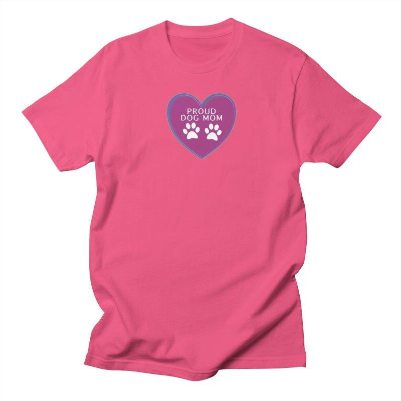 Dog Mama Shirts Women's Regular Unisex T-Shirt by Leading Artist Shop