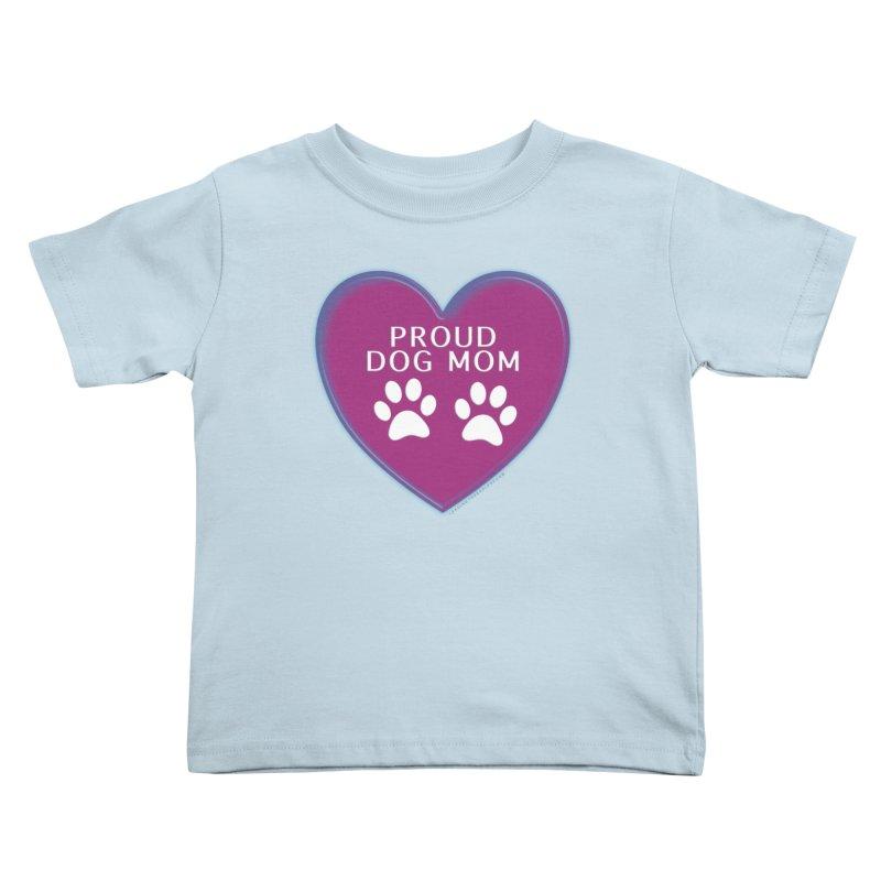 Dog Mama Shirts Kids Toddler T-Shirt by Leading Artist Shop