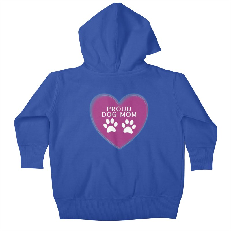 Dog Mama Shirts Kids Baby Zip-Up Hoody by Leading Artist Shop