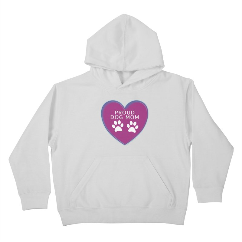 Dog Mama Shirts Kids Pullover Hoody by Leading Artist Shop
