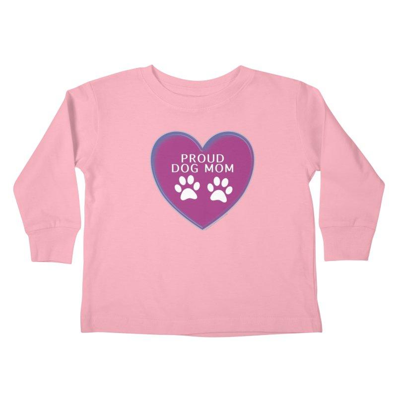 Dog Mama Shirts Kids Toddler Longsleeve T-Shirt by Leading Artist Shop