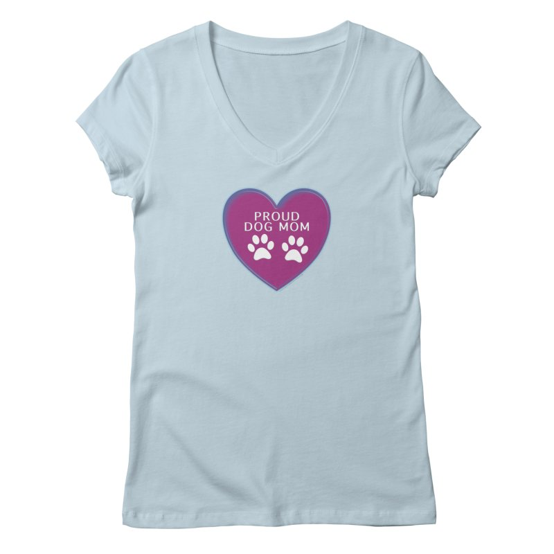Dog Mama Shirts Women's Regular V-Neck by Leading Artist Shop