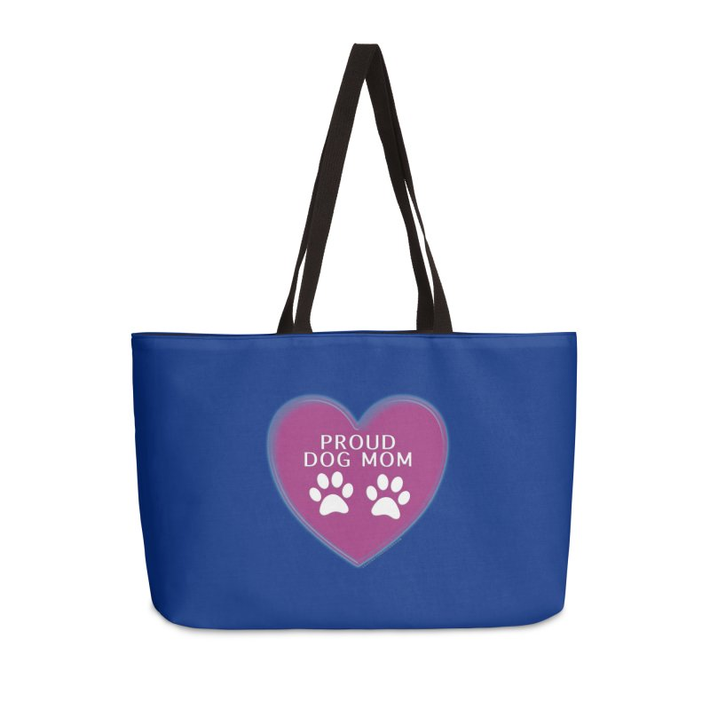 Dog Mama Shirts Accessories Weekender Bag Bag by Leading Artist Shop