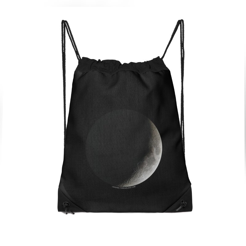 Moon By Jeff61B Accessories Drawstring Bag Bag by Leading Artist Shop