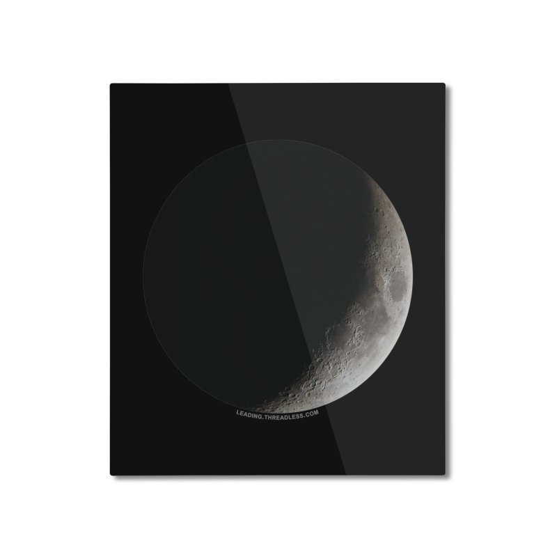 Moon By Jeff61B Home Mounted Aluminum Print by Leading Artist Shop