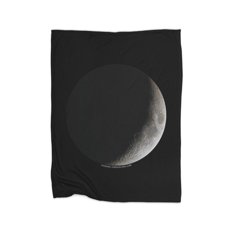 Moon By Jeff61B Home Fleece Blanket Blanket by Leading Artist Shop