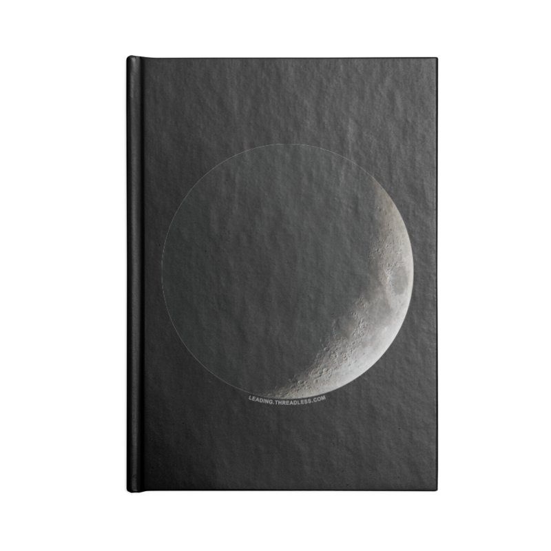 Moon By Jeff61B Accessories Blank Journal Notebook by Leading Artist Shop