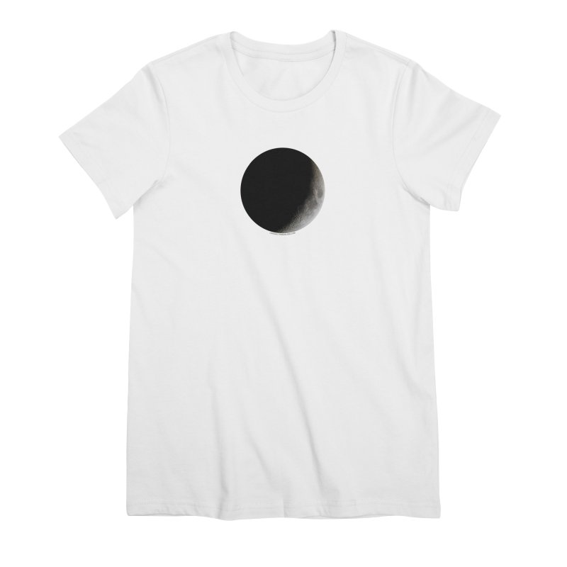 Moon By Jeff61B Women's Premium T-Shirt by Leading Artist Shop