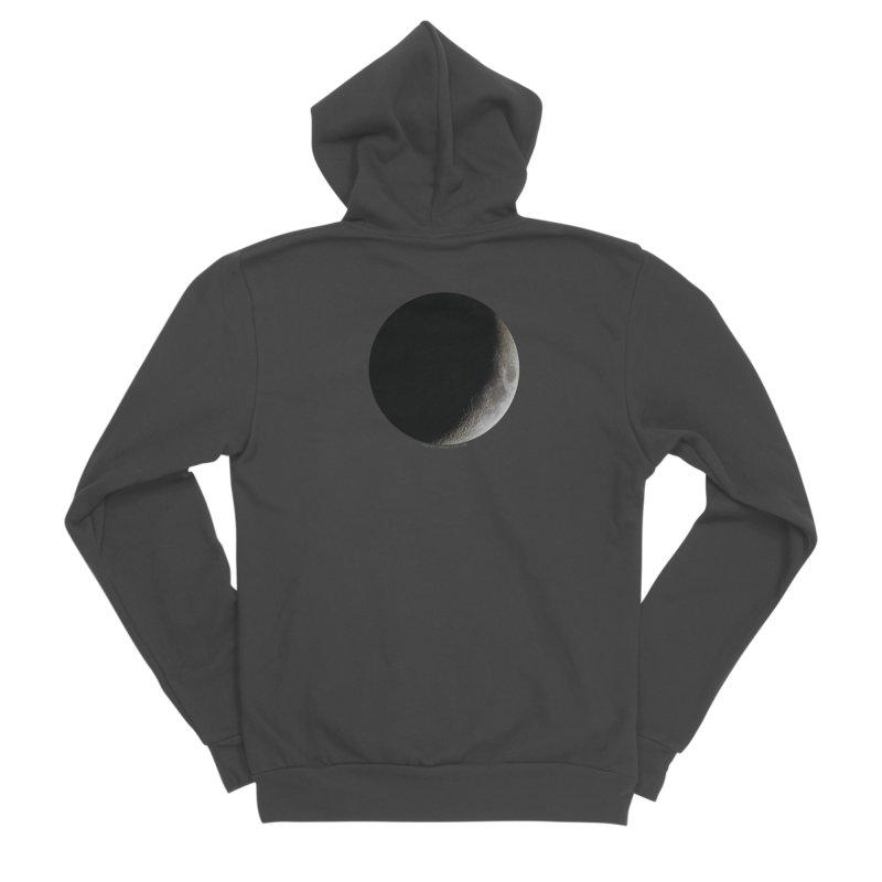 Moon By Jeff61B Women's Sponge Fleece Zip-Up Hoody by Leading Artist Shop
