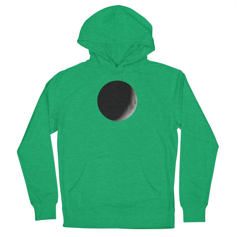 Moon By Jeff61B Men's French Terry Pullover Hoody by Leading Artist Shop