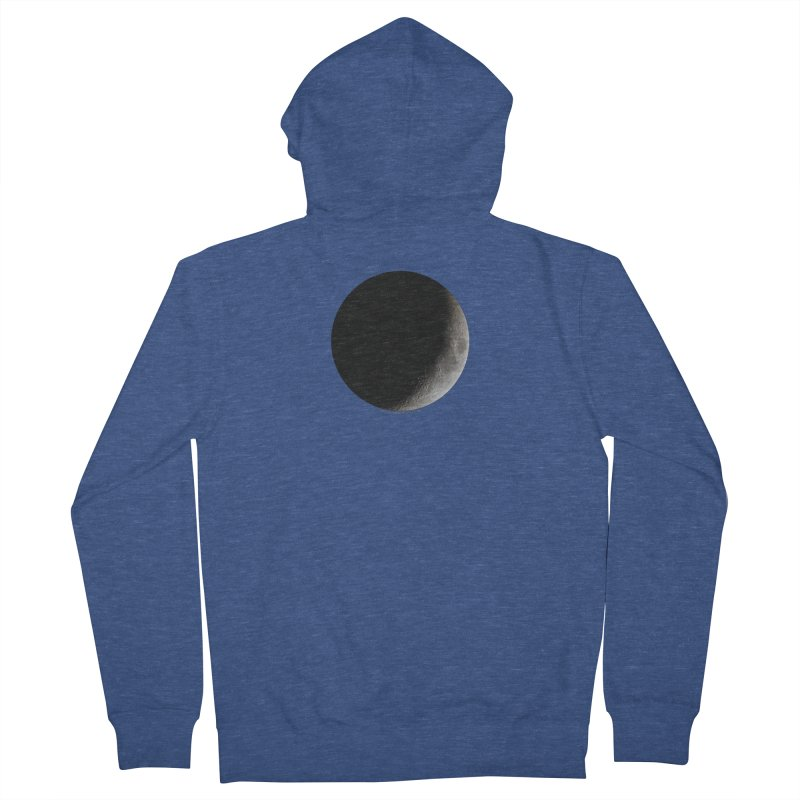 Moon By Jeff61B Women's French Terry Zip-Up Hoody by Leading Artist Shop