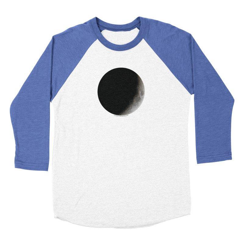 Moon By Jeff61B Women's Baseball Triblend Longsleeve T-Shirt by Leading Artist Shop