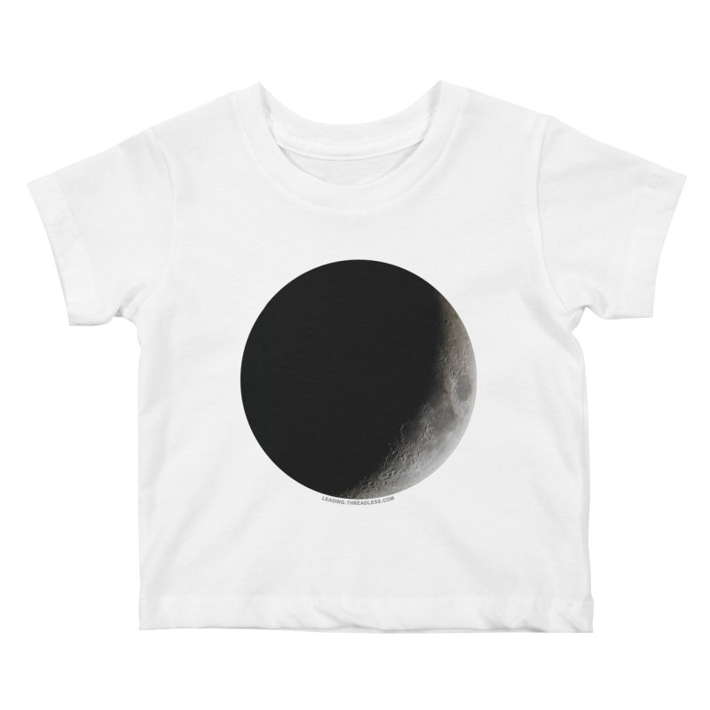 Moon By Jeff61B Kids Baby T-Shirt by Leading Artist Shop