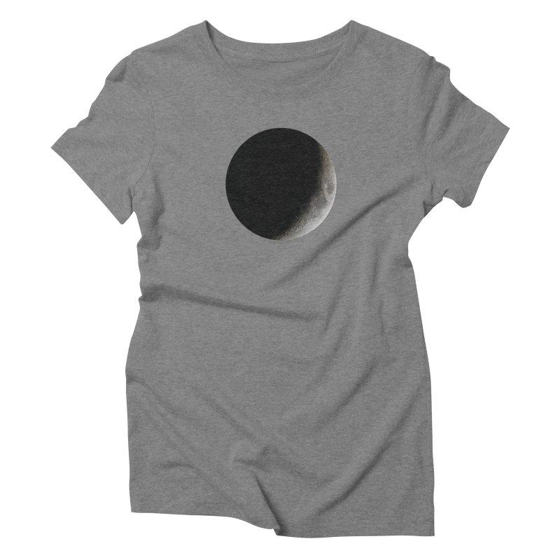 Moon By Jeff61B Women's Triblend T-Shirt by Leading Artist Shop