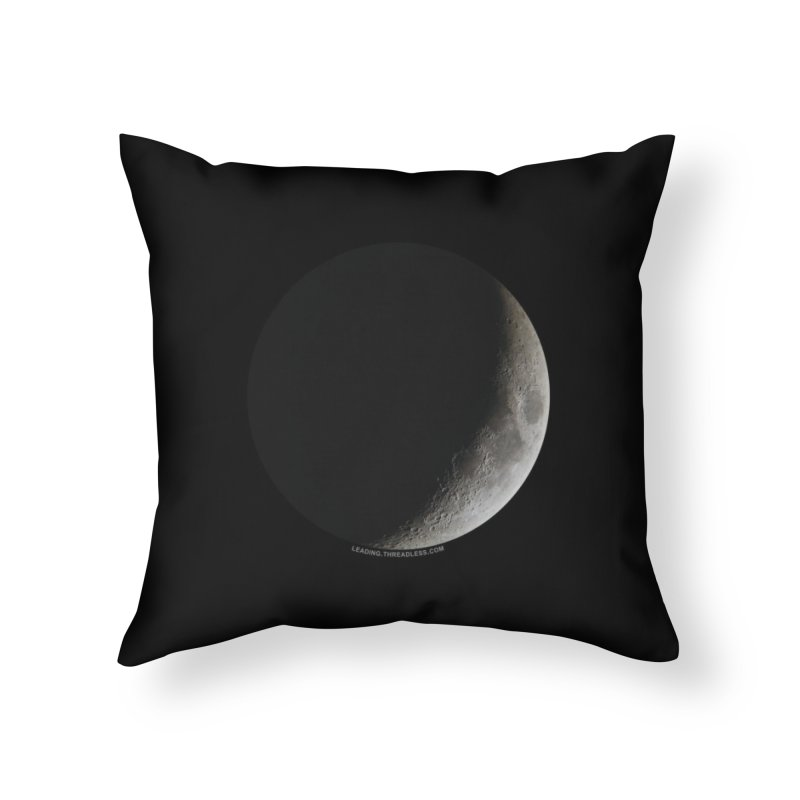 Moon By Jeff61B Home Throw Pillow by Leading Artist Shop